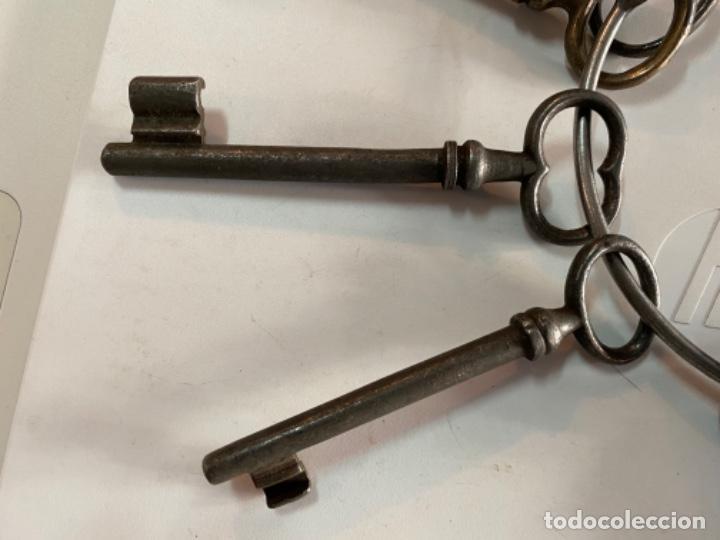 Antigüedades: llaves antiguas lote ver fotos - Foto 3 - 193708902