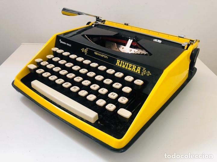 Antigüedades: Remington Riviera 1969 Typewriter - Foto 2 - 193714686