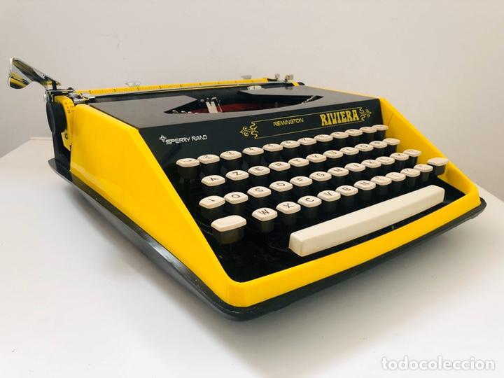 Antigüedades: Remington Riviera 1969 Typewriter - Foto 5 - 193714686