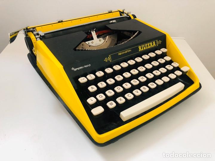 Antigüedades: Remington Riviera 1969 Typewriter - Foto 6 - 193714686