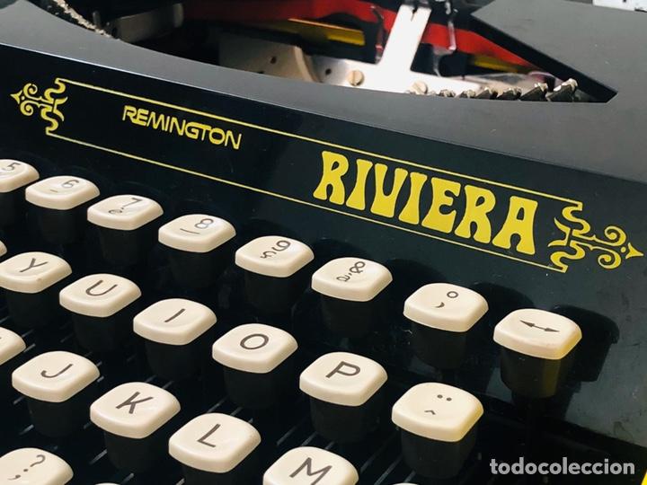 Antigüedades: Remington Riviera 1969 Typewriter - Foto 13 - 193714686