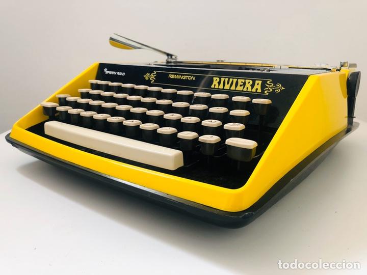 Antigüedades: Remington Riviera 1969 Typewriter - Foto 14 - 193714686