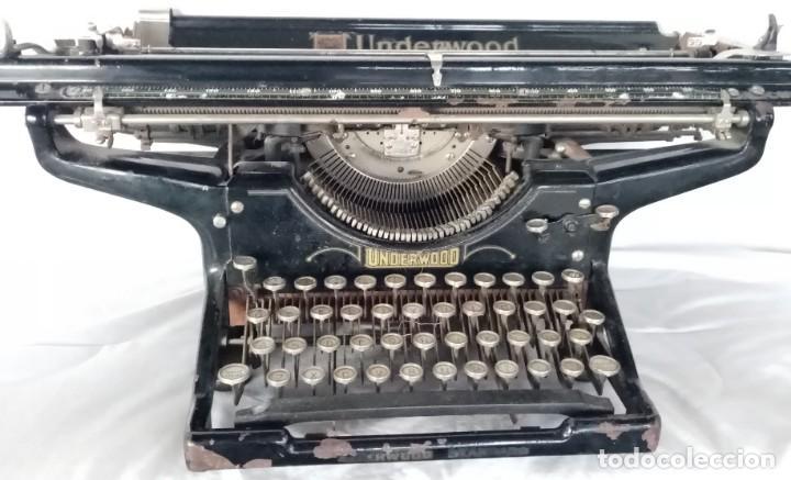 MAQUINA ESCRIBIR UNDERWOOD CARRO ANCHO (MADE IN USA) 1900 (Antigüedades - Técnicas - Máquinas de Escribir Antiguas - Underwood)