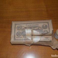 Antigüedades: PAQUETE DE 12 CARRETESDE HILO J.Y P. COATS. Lote 193745547