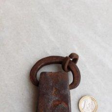 Antigüedades: PESA DE HIERRO FORJA CATALANA. Lote 193806340