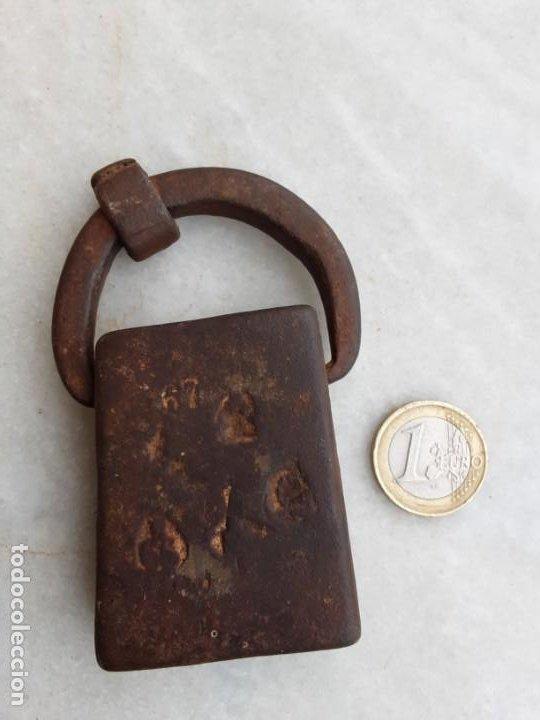 PESA DE HIERRO FORJA CATALANA (Antigüedades - Técnicas - Medidas de Peso Antiguas - Otras)