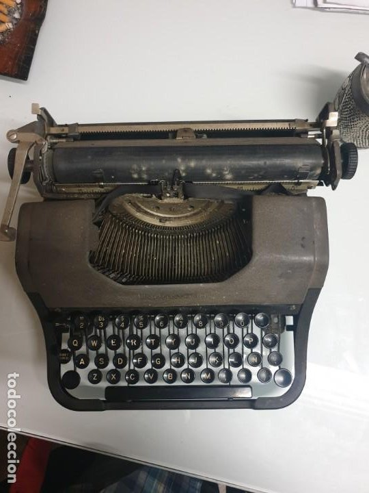 MAQUINA ESCRIBIR (Antigüedades - Técnicas - Máquinas de Escribir Antiguas - Underwood)