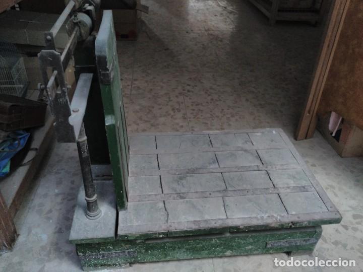 BÁSCULA MÁX 500 KG (Antigüedades - Técnicas - Medidas de Peso - Básculas Antiguas)