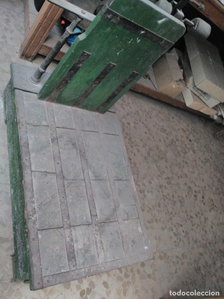 Antigüedades: Báscula máx 500 kg - Foto 3 - 193821975