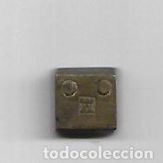 Antigüedades: PESO EN BRONCE. Lote 193824975