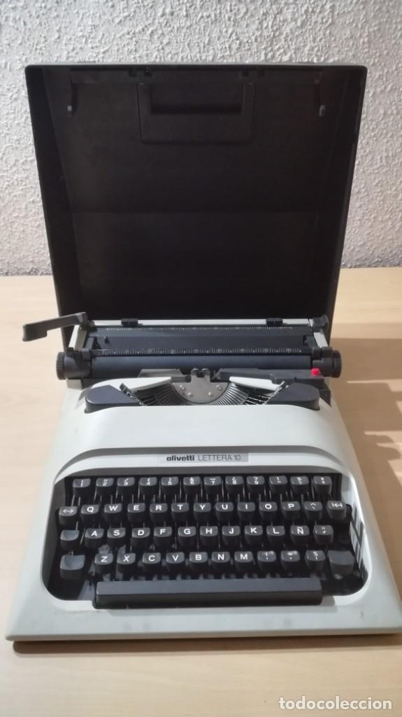 OLIVETTI LETTERA 10 - VER FOTOS (Antigüedades - Técnicas - Máquinas de Escribir Antiguas - Olivetti)