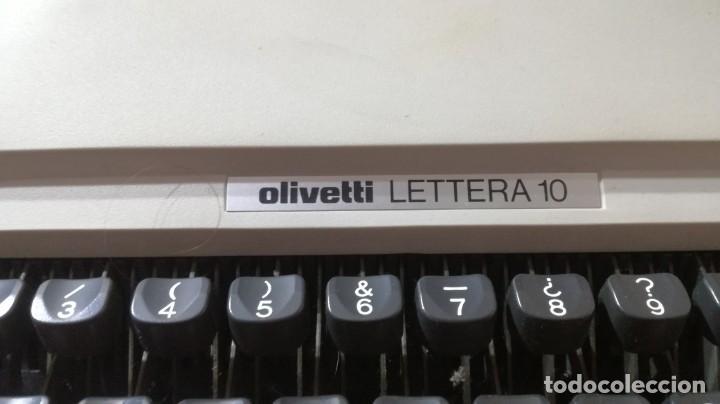 Antigüedades: OLIVETTI LETTERA 10 - VER FOTOS - Foto 6 - 193854378