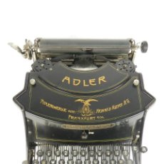 Antigüedades: MAQUINA DE ESCRIBIR ADLER MOD.15 AÑO 1915 TYPEWRITER SCHREIBMASCHINE. Lote 193854523