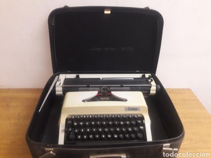 MAQUINA DE ESCRITURA ERIKA (Antigüedades - Técnicas - Máquinas de Escribir Antiguas - Erika)