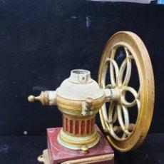 Antigüedades: MOLINILLO DE HIERRO FUNDIDO J.M.B. Lote 193874020
