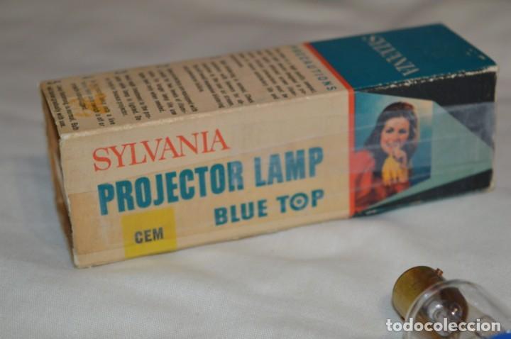 Antigüedades: Vintage - Lámpara / Bombilla para proyector antiguo -- SYLVANIA CEM - 120W / 120V -- ¡Mira fotos! - Foto 6 - 193902570
