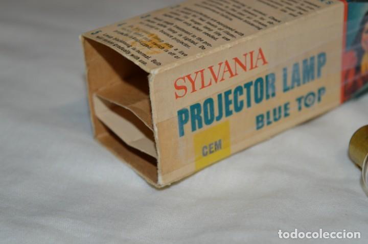 Antigüedades: Vintage - Lámpara / Bombilla para proyector antiguo -- SYLVANIA CEM - 120W / 120V -- ¡Mira fotos! - Foto 7 - 193902570