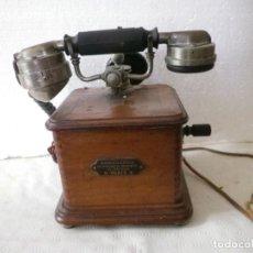 Telefoni: TELÉFONO TIPO MARTÍ DE LA ASOCIACION DE INTRUMENTOS DE PRECISION DE PARIS AÑO 1910. Lote 193907566