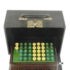Antigüedades: CALCULADORA TORPEDO AÑO 1930 ADDING MACHINE RECHENMASCHINE CALCULER. Lote 193959018