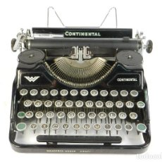 Antiquités: MAQUINA DE ESCRIBIR CONTINENTAL WANDERER 340 AÑO 1937 TYPEWRITER SCHREIBMASCHINE. Lote 193960265
