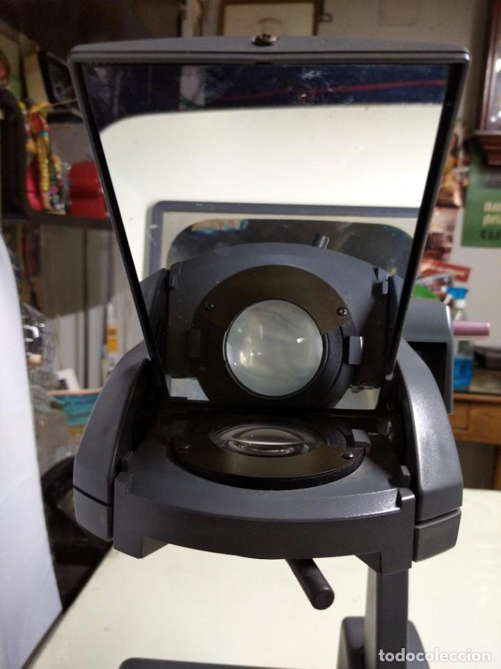 Antigüedades: Proyector de transparencias M3 2770 Overhead Projector. Funcionando. - Foto 5 - 193962105