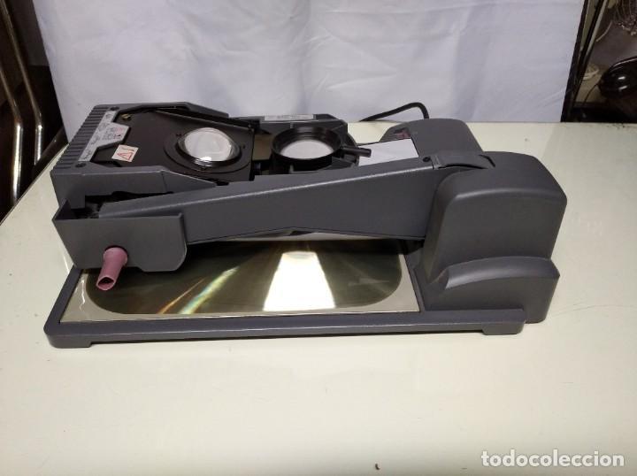 Antigüedades: Proyector de transparencias M3 2770 Overhead Projector. Funcionando. - Foto 8 - 193962105