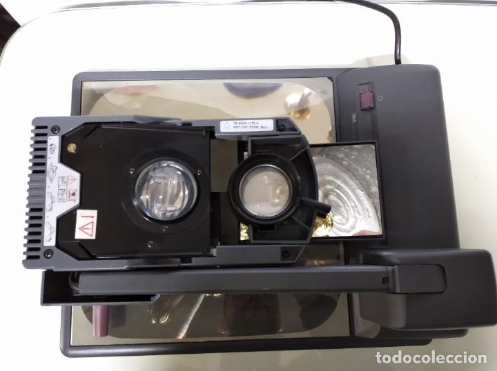 Antigüedades: Proyector de transparencias M3 2770 Overhead Projector. Funcionando. - Foto 9 - 193962105