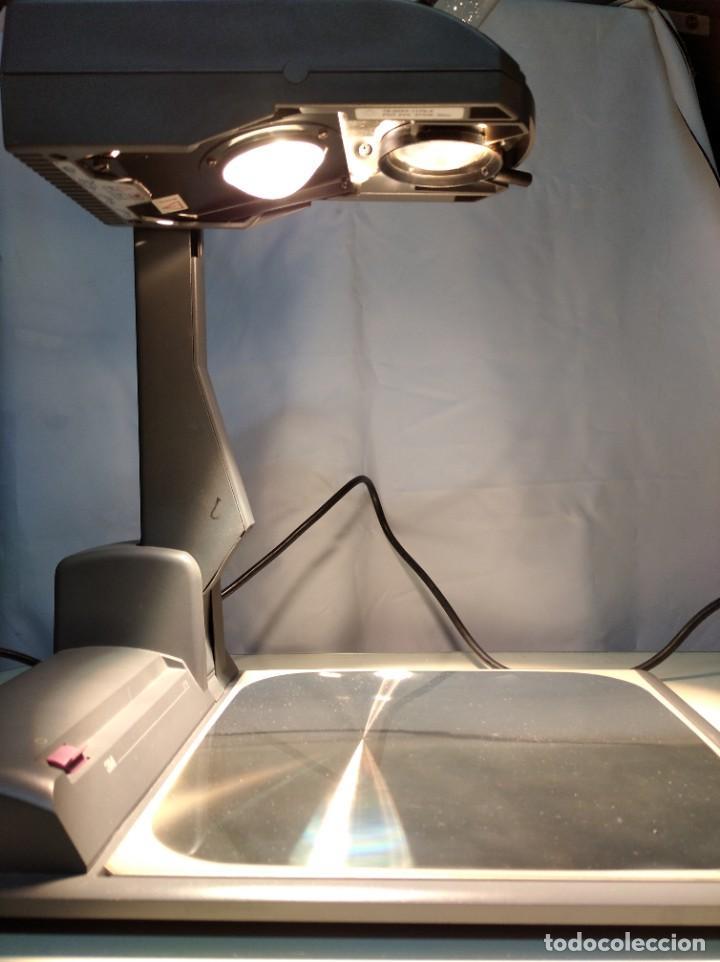 Antigüedades: Proyector de transparencias M3 2770 Overhead Projector. Funcionando. - Foto 20 - 193962105