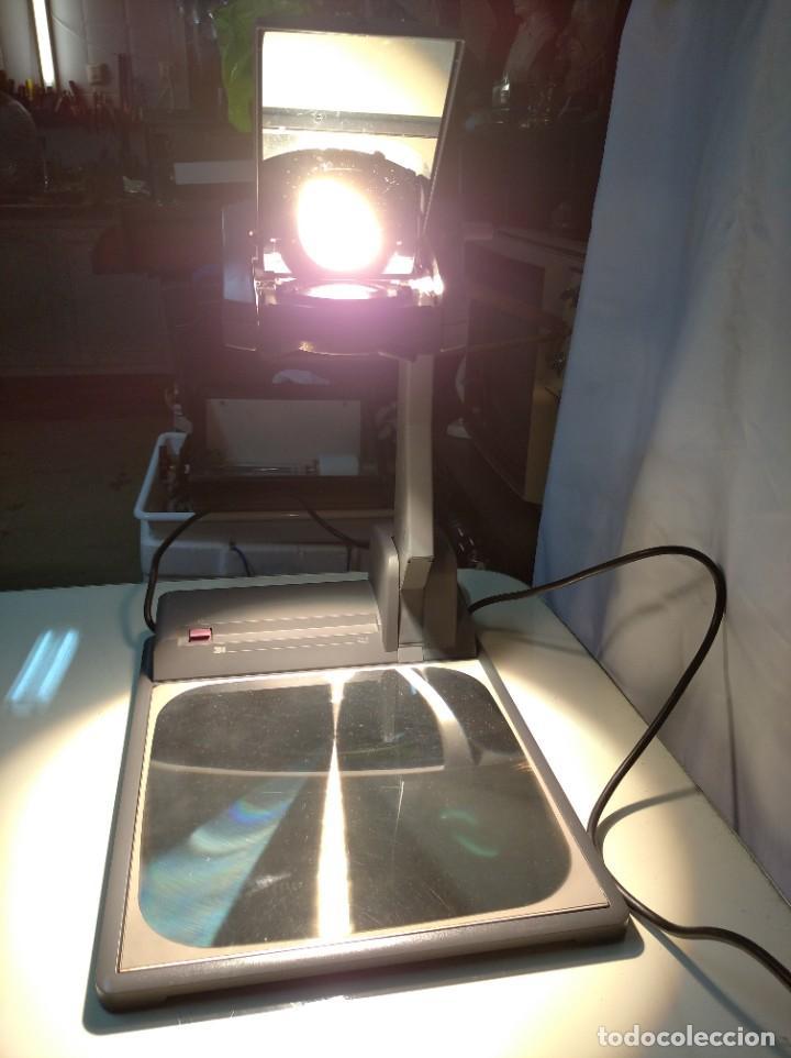 Antigüedades: Proyector de transparencias M3 2770 Overhead Projector. Funcionando. - Foto 22 - 193962105