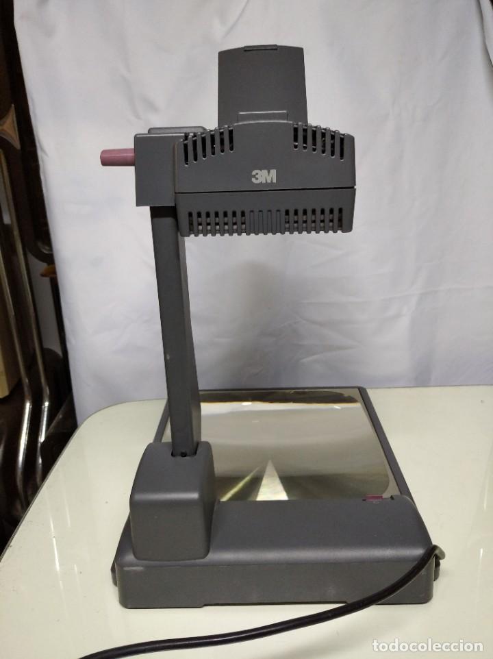 Antigüedades: Proyector de transparencias M3 2770 Overhead Projector. Funcionando. - Foto 2 - 193962295