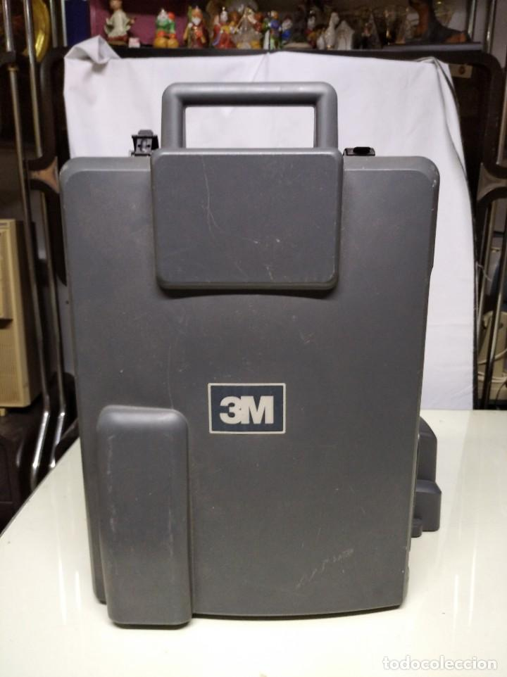 Antigüedades: Proyector de transparencias M3 2770 Overhead Projector. Funcionando. - Foto 12 - 193962295