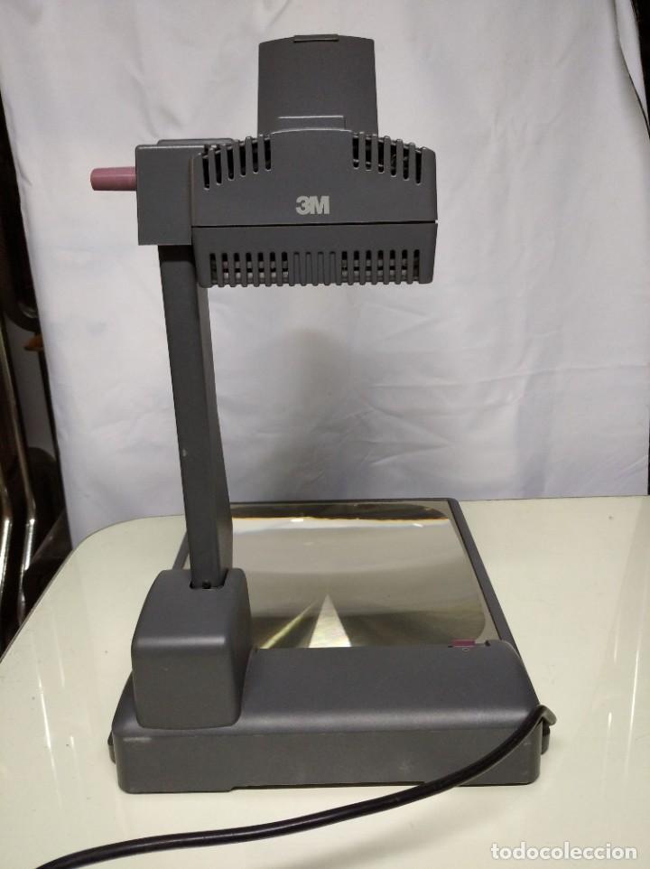 Antigüedades: Proyector de transparencias M3 2770 Overhead Projector. Funcionando. - Foto 14 - 193962295