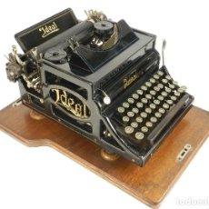 Antigüedades: MAQUINA DE ESCRIBIR IDEAL A2 A3 A4 AÑO 1903 SEIDEL & NAUMANN TYPEWRITER . Lote 193964250
