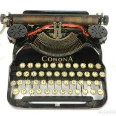 Antigüedades: MAQUINA DE ESCRIBIR CORONA Nº4 AÑO 1932 TYPEWRITER SCHREIBMASCHINE. Lote 193969856