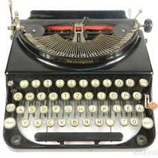 Antigüedades: MAQUINA DE ESCRIBIR REMINGTON AÑO 1935 TYPEWRITER SCHREIBMASCHINE. Lote 193970423