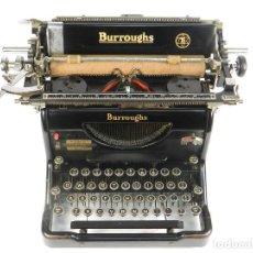 Antigüedades: MAQUINA DE ESCRIBIR BURROUGHS STANDARD AÑO 1931 TYPEWRITER SCHREIBMASCHINE. Lote 193970875