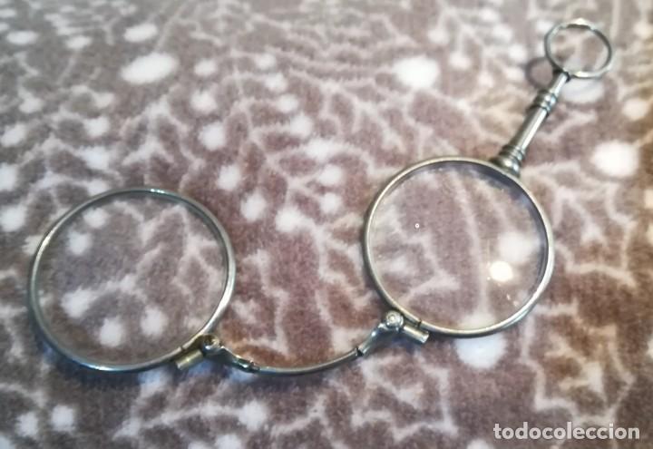 BINOCULAR PLEGABLE (Antigüedades - Técnicas - Instrumentos Ópticos - Gafas Antiguas)