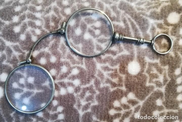 Antigüedades: Binocular plegable - Foto 2 - 193978475
