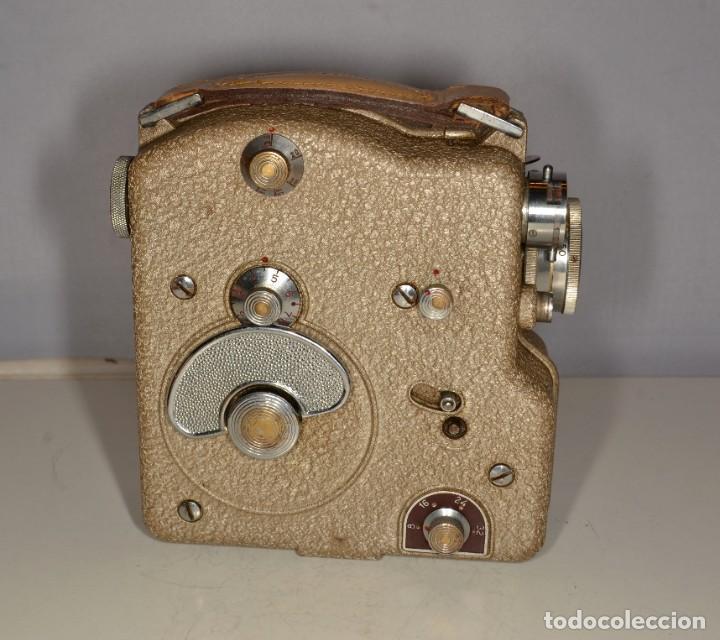 Antigüedades: Cámara de cine a cuerda marca Camex Ercsam - ref. 1668/3 - Foto 2 - 193996151