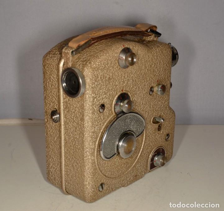 Antigüedades: Cámara de cine a cuerda marca Camex Ercsam - ref. 1668/3 - Foto 3 - 193996151