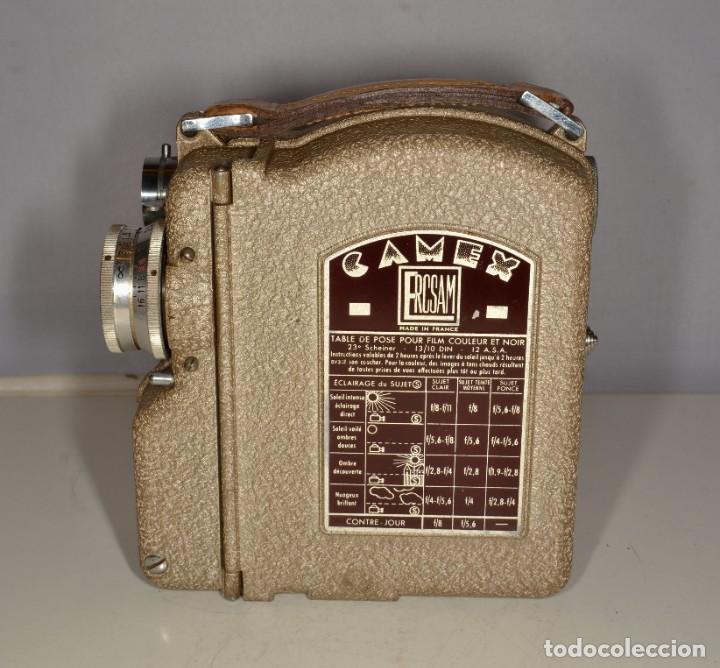 Antigüedades: Cámara de cine a cuerda marca Camex Ercsam - ref. 1668/3 - Foto 6 - 193996151