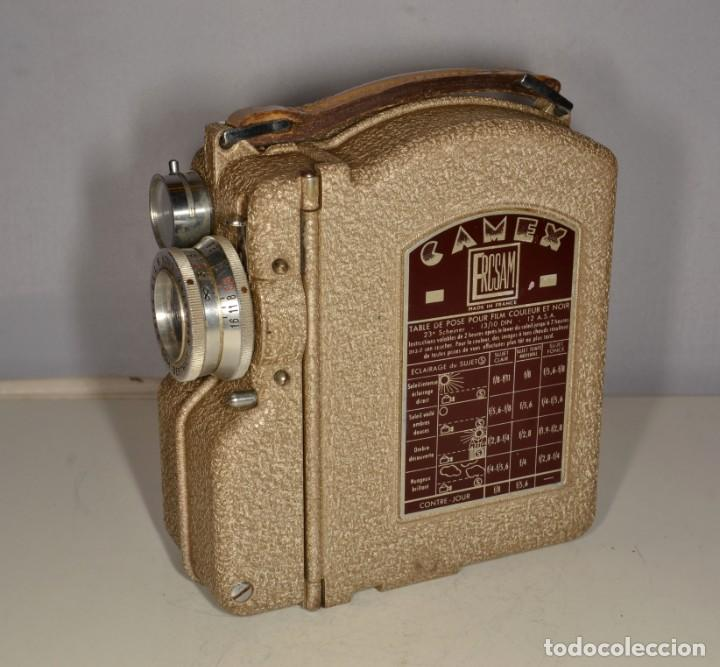 Antigüedades: Cámara de cine a cuerda marca Camex Ercsam - ref. 1668/3 - Foto 7 - 193996151