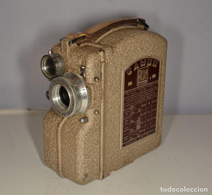 Antigüedades: Cámara de cine a cuerda marca Camex Ercsam - ref. 1668/3 - Foto 8 - 193996151