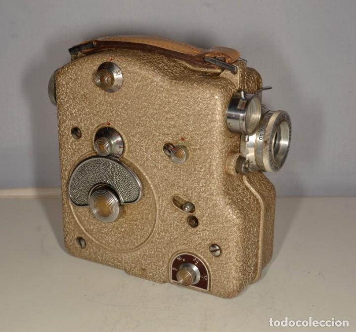 Antigüedades: Cámara de cine a cuerda marca Camex Ercsam - ref. 1668/3 - Foto 10 - 193996151