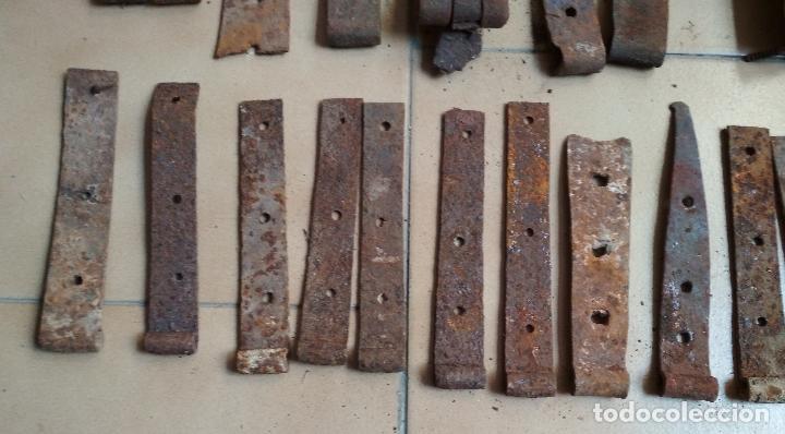 Antigüedades: LOTE 55 BISAGRAS VARIAS. ALGUNAS PAREJAS - Foto 7 - 194009838