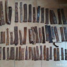 Antigüedades: LOTE 55 BISAGRAS VARIAS. ALGUNAS PAREJAS. Lote 194009838