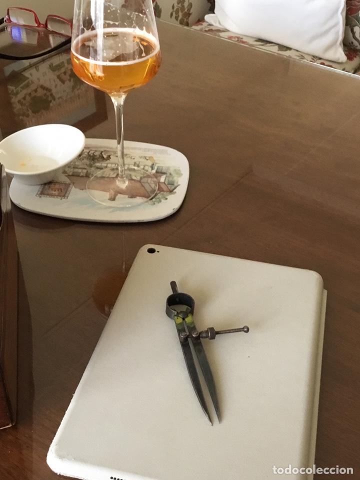Antigüedades: Compas de puntas antiguo - Foto 7 - 194066457