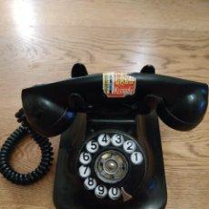 Teléfonos: ANTIGUO TELÉFONO NEGRO DE TELEFÓNICA. Lote 194082452