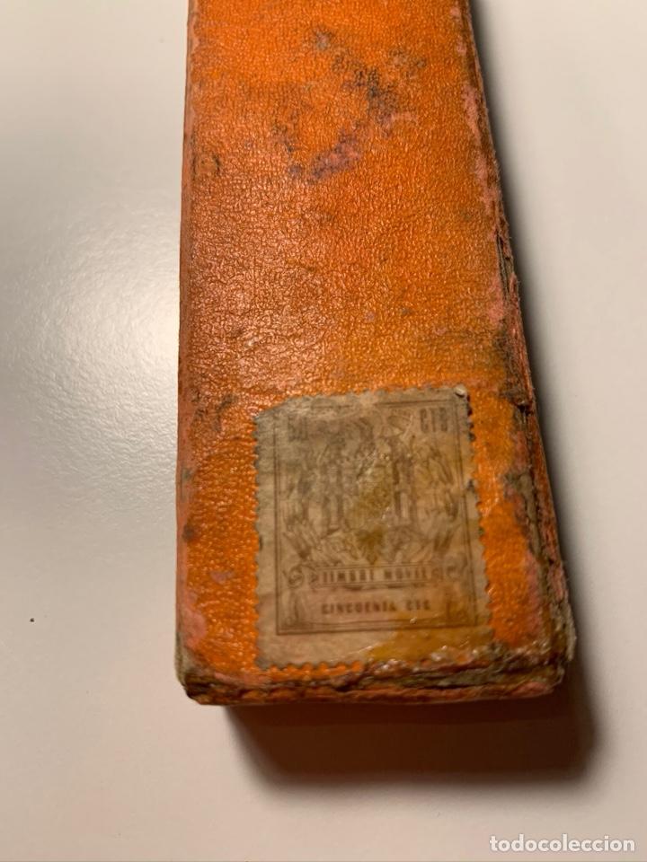Antigüedades: Antigua NAVAJA AFEITAR FILARMÓNICA SUB CERO Nº14 con Caja - Foto 2 - 194084490