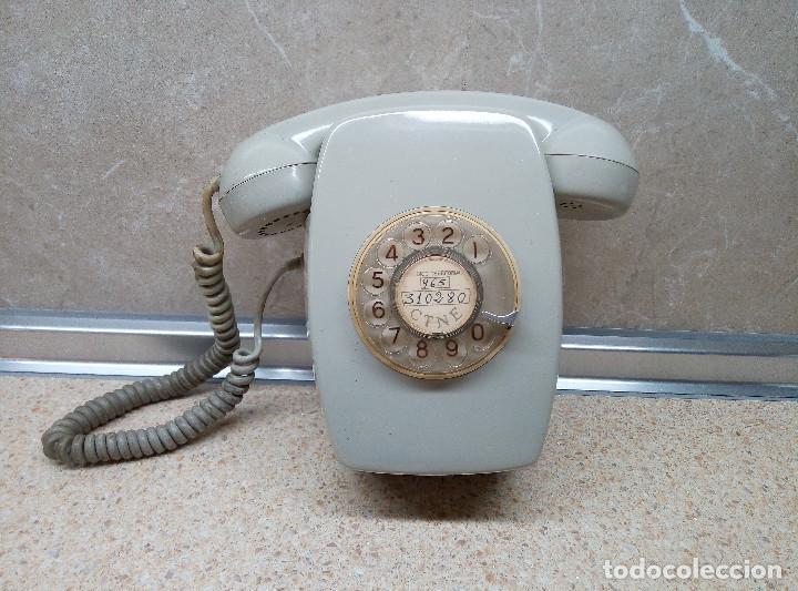 TELEFONO DE PARED HERALDO DE CITESA ( MALAGA ) PERFECTO ) (Antigüedades - Técnicas - Teléfonos Antiguos)